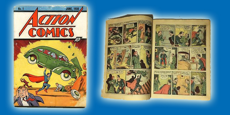Extremely Rare Action Comics #1 Up For Sale!